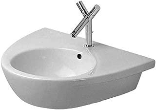 Duravit 04116500001 Starck 2 Wash Basin W/ Overflow And Tap Platform