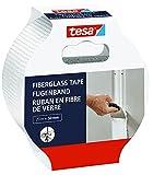 tesa 52512 Adhesiva de Fibra de Vidrio-Cinta de Carrocero para Reparar, Sellar y Enmascarar-para Superficies Rugosas y Lisas, Blanco, 20m x 50mm