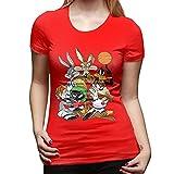 Space Jam - Camiseta de manga corta para mujer, rosso, M