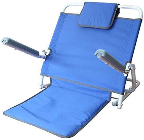 Z-SEAT Respaldo de Cama con Almohada para la Cabeza, Silla Perezosa de enfermería para Ancianos Plegable Respaldo Ajustable para Sentarse o reclinarse