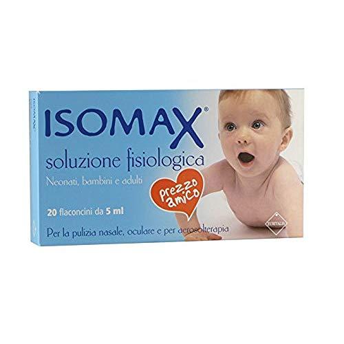 Isomax Kochsalzlösung Nasen- und Augen Aerosol 20 Fläschchen x 0,5 ml