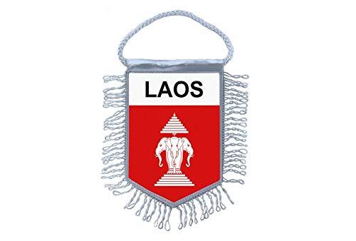 Akachafactory Wimpel minivlag vlag vlag minivlag Laos Old