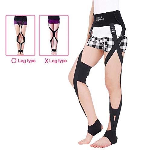 Postrf Unisex O/X Beine Korrektur Gürtel Klopfen Knees Form Aufrichtung Bandage für Kinder und Erwachsene Männer und Frauen Korrektur Band,M