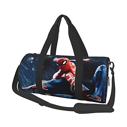 Movie Sp-ider-Man Leisure Travel Bag Unisex Holdall Handbags Flight Fashion Gym Sports Training Shopping Shoulder Bags