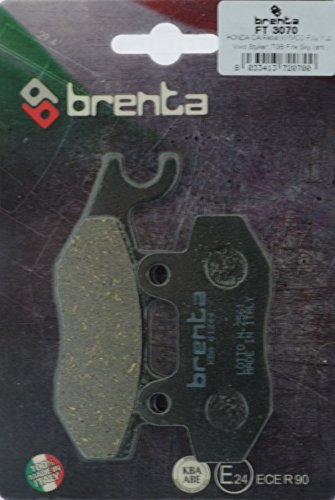 Brenta Remvoeringen Organische motorfiets voor Benelli Caffe Nero 250, Daelim, Generic, Kreidler