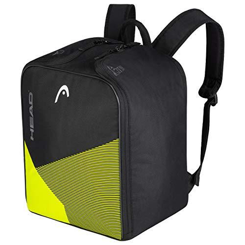 HEAD Unisex– Erwachsene Boot Backpack Skischuh-Tasche, schwarz/gelb, Einheitsgröße