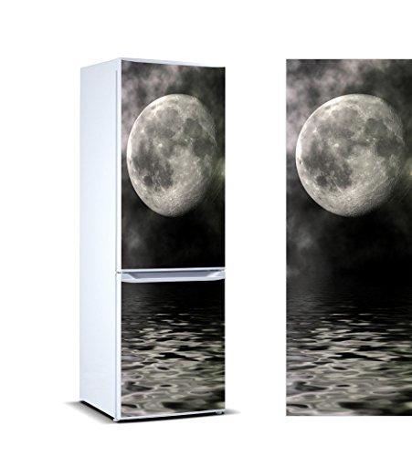 Oedim Vinilo para Frigorífico Luna 185x60cm | Adhesivo Resistente y de Facil Aplicación | Pegatina Adhesiva Decorativa de Diseño Elegante