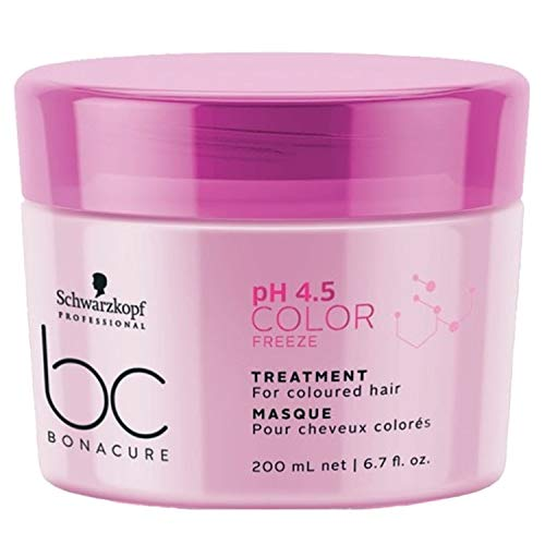 Schwarzkopf Professional BONACURE ph 4.5 Color Freeze Treatment, 200 ml