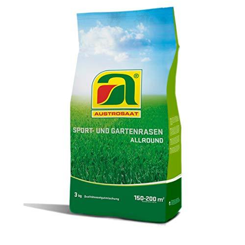Austrosaat Sport & Garten Allround 3,0 kg Rasensamen für Ansaat