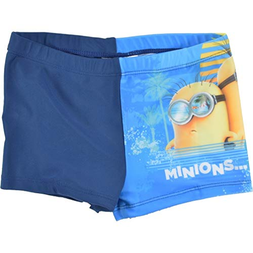 United Labels Minions Jungen Badehose Cooler Than You, blau, Gr. 122/128