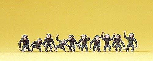 calidad garantizada Monkeys (10) (10) (10) HO Preiser Models by Preiser  ventas en linea