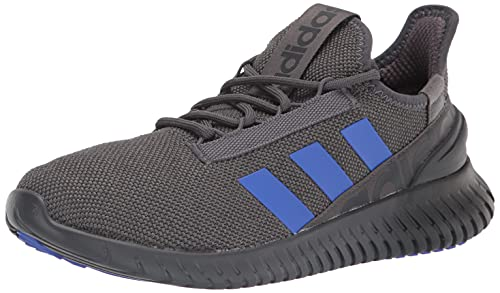 adidas Men's Kaptir 2.0 Trail Running Shoe, Grey/Sonic Ink/Carbon, 13