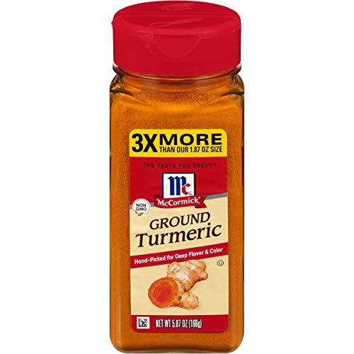 McCormick Ground Turmeric (Keto Friendly), 5.87 oz
