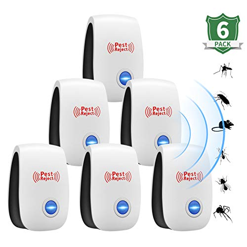 Ultrasuoni repellenti ideali repellenti per insetti in grado di eliminare efficacemente gli scarafaggi e le formiche zanzare ragni topi e altri parassiti termite a ultrasuoni controllo dei parassiti