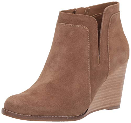 Lucky Brand Women's Yabba Ankle Boot, Sesame, 9 M US