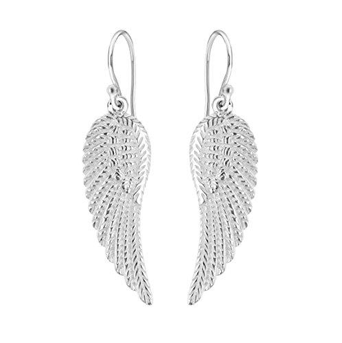 Tuscany Silver Ohrhänger Sterling Silber Engel Flügel