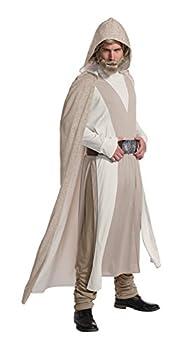 Rubie s Men s Star Wars  Episode Viii Deluxe Luke Skywalker Adult Sized Costumes As Shown Standard US