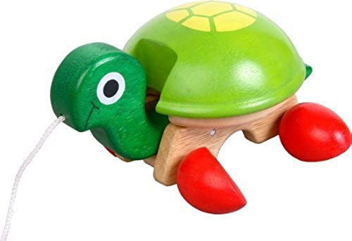 Voila Pull-Along Pet, Tortoise by The Sales Partnership Distributors Ltd