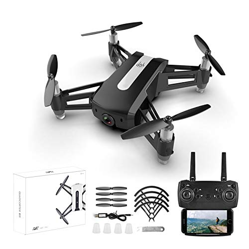 ZhaoZC Professional 4k Hd Aerial Photography Drone, Quadrocopter Long-Endurance Remote Control Aircraft Drone,Black