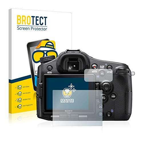 BROTECT Protector Pantalla Anti-Reflejos Compatible con Sony Alpha 77 II (SLT-A77 II)...