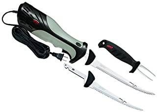 Rapala HDEFACSC Heavy Duty Electric Knife, Fillet, Combo