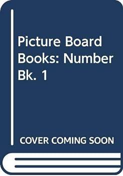 Hardcover Picture Board Books: Number Bk. 1 (Picture board books) Book