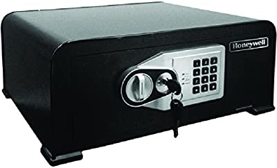 Honeywell Safes & Door Locks - 5705 Curved Top Security Safe with Digital Lock, Black
