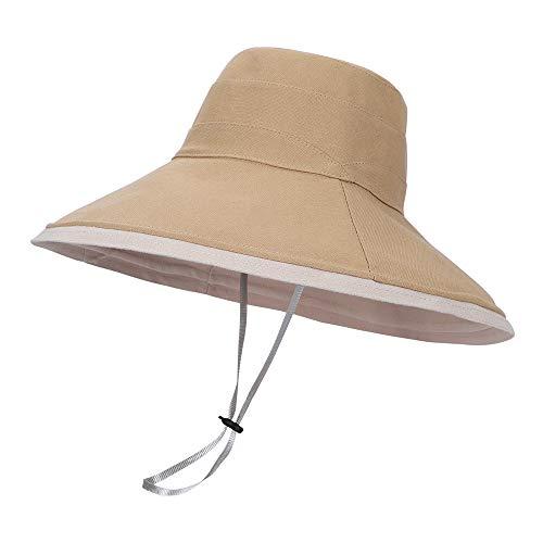 LACOFIA Sombreros de Sol para Mujer de ala Ancha Gorra de Playa...