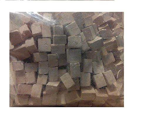 1 kg Pierre Blanche carrée Miniatures. CUIT 2972K