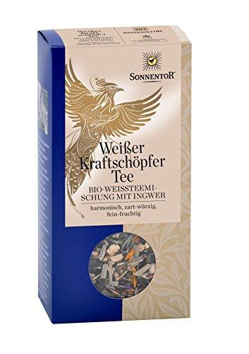 Sonnentor Weißer Kraftschöpfer-Tee lose, 1er Pack (1 x 70 g) - Bio