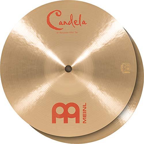 Meinl CA10PH 10 inch B20 Bronze Candela Percussion Hi-Hat Cymbal