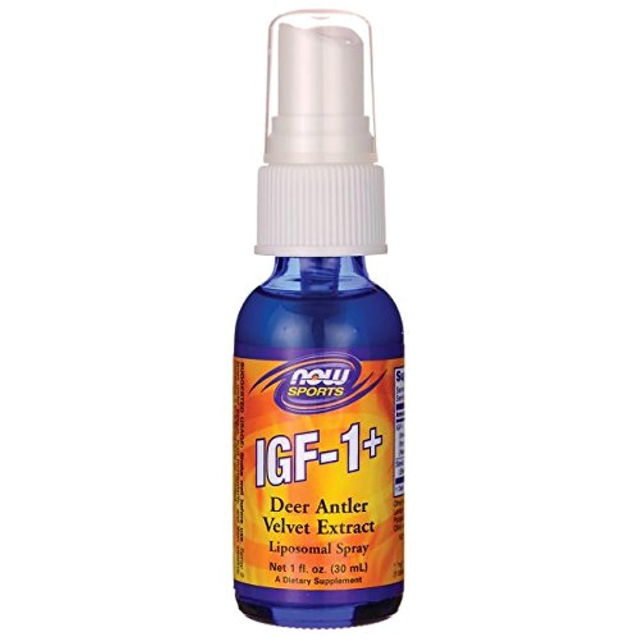 高さセンチメンタル制限IGF-1リポソームスプレー1オンス(28ml) IGF-1 plus Liposomal Spray 1oz #NOW03201