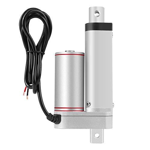 SANON Actuador Lineal de 12 V 80 Kg de Elevación Máxima 50 Mm de Carrera Motor Eléctrico para Auto Médico Dc