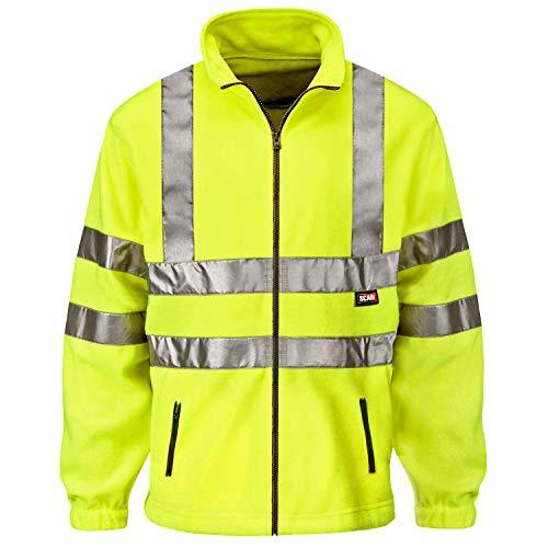 Scan WWHVFL - Equipo e indumentaria de seguridad (tamaño: Large), color: amarillo
