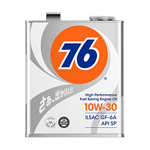 76 (ナナロク) エンジンオイル 10W-30 3L 4輪ガソリン車専用 API SP/ILSAC GF-6 / 76 LUBRICANTS ナナロク ルブリカンツ SJL76007