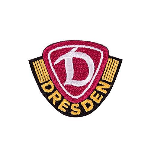SG Dynamo Dresden Aufnäher Logo klein farbig