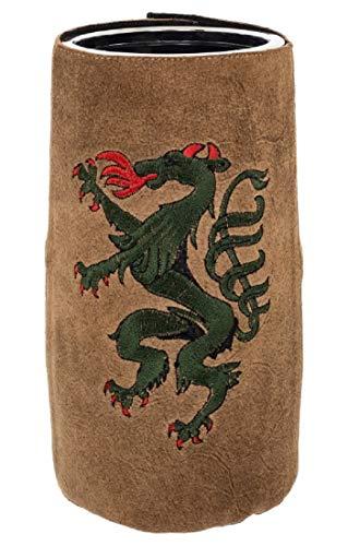 Bergheimer Enfriador de vino Steiermark, de piel, bordado, diseño de Steiermark