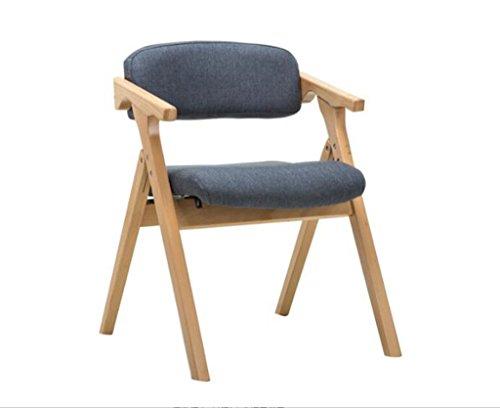 Tabouret en bois Salle à manger chaises nordique à manger chaises maison chaises pliantes simple chaise de café loisirs fauteuil chaise (Couleur : #1)
