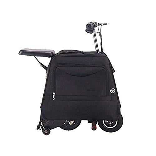 ZXMDP Easy Carry Elektrische step, met kleine koffer, ultralichte elektrische step voor volwassenen, geschikt voor volwassenen en tieners