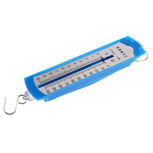 Baoblaze 10 N Newtonmeter Kraftmesser Federkraftmesser für Schule Lehrmittel Laborzubehör