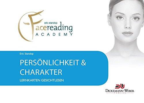 Lernkarten Gesichtlesen - Persönlichkeit & Charakter: Lernkarten der Eric Standop|face reading academy