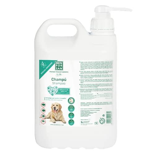 Menforsan Menforsan | Champú Repelente De Insectos Para Perros | Con Citronela - 5 L 5200 g