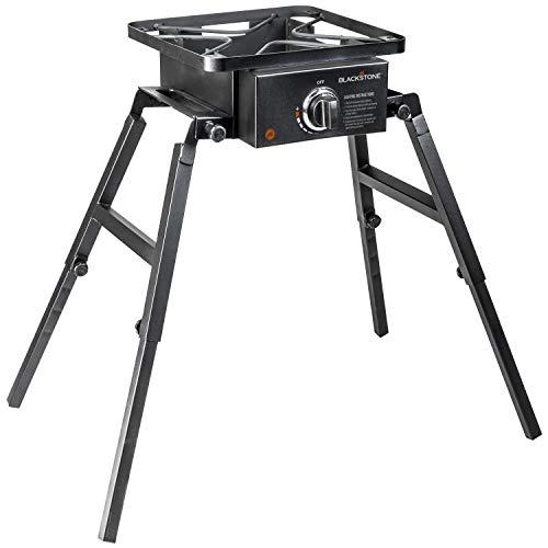 Blackstone Single Burner Camp Stove - Portable - Adjustable Legs for Uneven Terrain - Anywhere Stove
