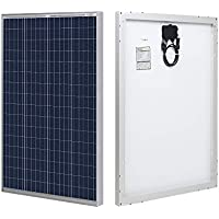 HQST 100 Watt Polycrystalline 12V Solar Panel with Solar Connectors
