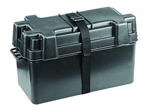 NuovaRade Boîte de Batterie jusqu'à 120 Ah Dimensions intérieures 38,6 x 17,5 x 22,6 cm Matériel de Pont