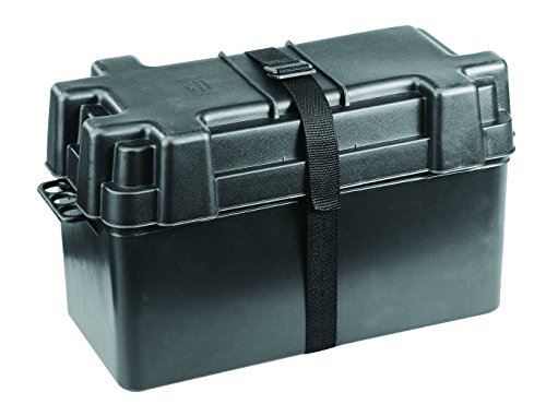 NuovaRade Battery Box Up To 120Ah, Internal Dimensions 15.2' x 6.9' x 8.9' Caja de batería, Dimensiones internas 15' x 17,5 cm x 22,6 cm, bis 120 Ah