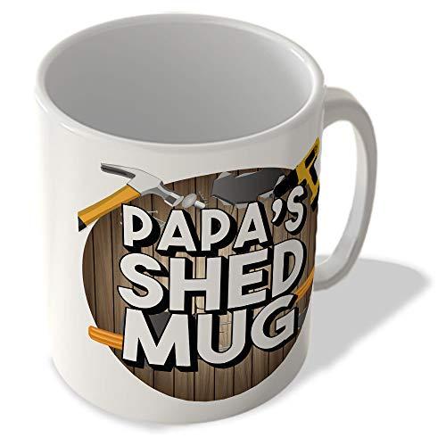 McMug Papa's Shed Mug (Circle Background) - Mug