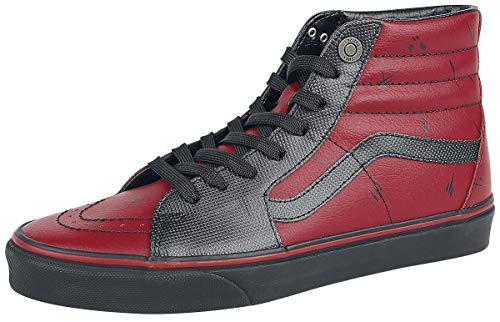 Vans Marvel Deadpool SK8-Hi Sneaker rot/schwarz EU36