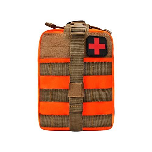 Heaviesk Kit de premiers secours Outdoor Tactical Medical Bag Travel Multifonctionnel Ceinture Pack