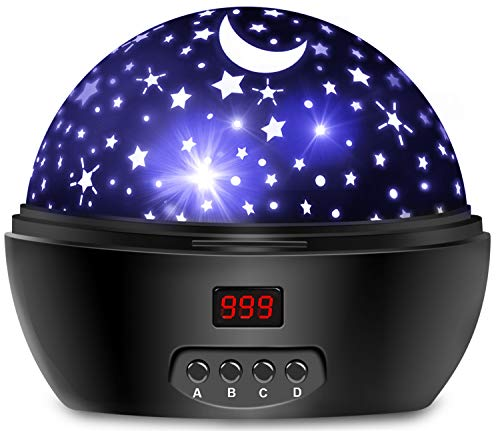 Night Lights for Kids, Star Projector with Timer for Boys and Girls